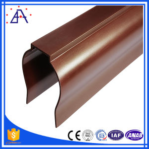 6063-T5 Powder Coating Extruded Aluminum/Aluminium Profile pictures & photos