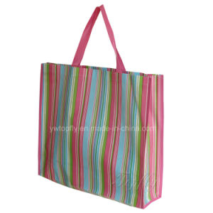 Laminated Non Woven Tote Bag for Promotional or Supermarket pictures & photos