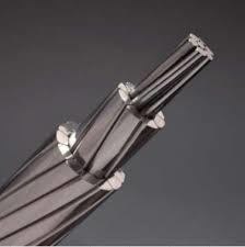 ACSR/Tw Bare Aluminum Conductor, Steel Reinforced. Trapezoidal Shaped Aluminum Strands pictures & photos