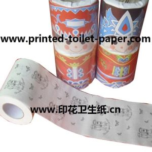 China Funny Printed Novelty Customized Toilet Paper Tissue Rolls ...