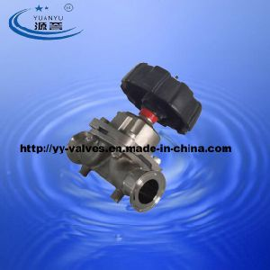 Triclamp Diaphragm Valve High Purity pictures & photos