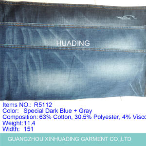 Factory Custom New Design High Quality Jean Fabric (R5112) pictures & photos