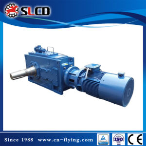 B3-8 Right Angle Shaft Heavy Duty Helical Bevel Gear Boxes for Wood Pellet Machine pictures & photos