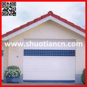 Aluminum Automatic Roller Shutter Garage Door for Villa (ST-002) pictures & photos