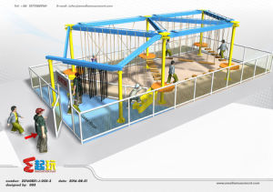 Small Climbing Frame of Indoor Playground with Easy to Install