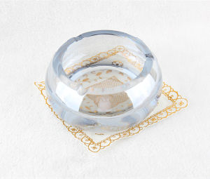 New Design Office Decor Round Crystal Ashtray pictures & photos
