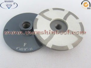 4′′ Resin Filled Cup Wheel for Granite Marble Grinding Disc pictures & photos
