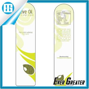 Front and Back Adhesive Sticker Label for Olive Oil Bottle pictures & photos
