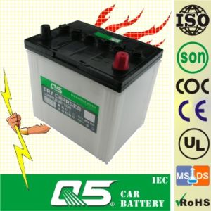 JIS 55D23 12V60AH, Super Dry Charged Auto Battery, car 12V battery pictures & photos