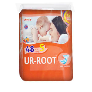 Soft Ultra-Thin Diapers with Good Quality (S)