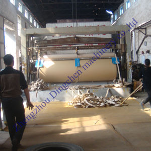Dingchen Machinery Manufacturers 1760mm 20tpd Corrugating Paper Making Machine pictures & photos