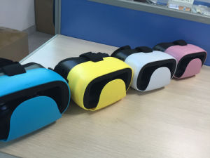 Colorful 3D Virtual Reality Glasses for Movie and Game