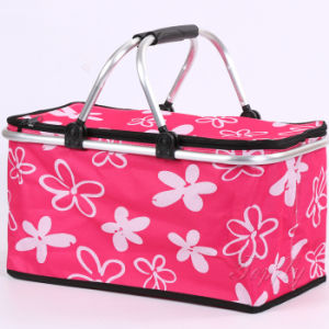 Folded Shopping Cooler Basket Suitable for Picnic and Promotional pictures & photos
