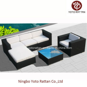 Outdoor Furniture Sofa Set for Hotel with Aluminum Frame SGS (8201)