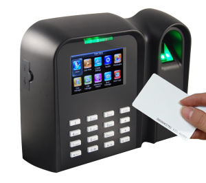 MIFARE Card Reader and Fingerprint Time Attendance (Qclear-C/MF) pictures & photos