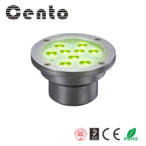 9W RGB LED Underwater Light with CE& RoHS Approved