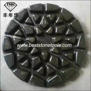 "Cr-28 Fnh 4 Step Sun Polishing Pad for Stone Concrete Renovation (4""/100X6.0mm)"