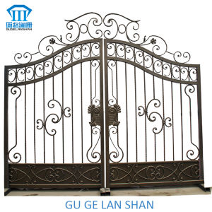 High Quality Crafted Wrought Iron Gate/Door 046 pictures & photos