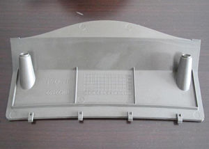 Precision Injection Molded Plastic Cover