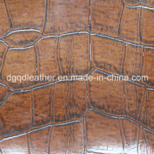 Wearing Resistant Artificial Leather Semi-PU Qdl-50219 pictures & photos