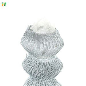 Best Price PVC Coated Gi Residence Security Wire Mesh Chain Link Fence