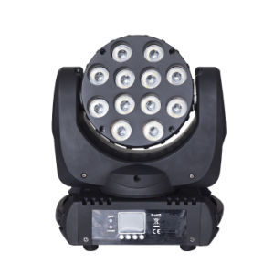 Full Color LED 12PCS*12W Mini Beam Moving Head Light