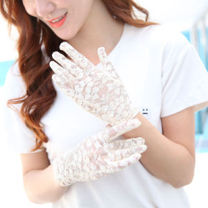 Women's Arm Warmers Summer Women Sun Gloves Thin Long Half Finger Uv Sleeve Cotton Bike Driving Arm Sleeve Wholesale Durable In Use
