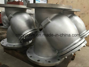 "API/DIN/JIS Class150 Cast Steel A216 Wcb 5"" Dn125 Y Strainer pictures & photos"