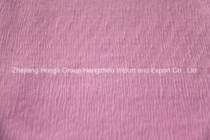Popular High Twist Georgette Fabric for Fashion Garment pictures & photos