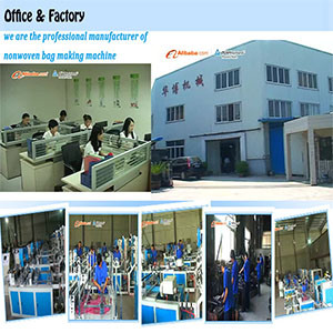 Full-Automatic Nonwoven Fabric Bag Making Machine pictures & photos