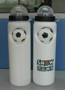 Football Water Bottle with PU Ball Px6010