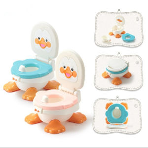 Newest Baby Toilet, Seat Toilet for Baby, Carton Design Baby Potty (RCB-009)