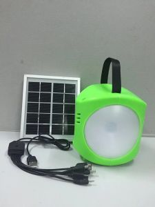 Solar LED Portable Camping Hand Light pictures & photos