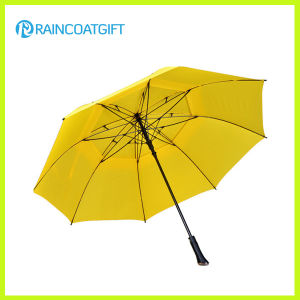 Advertising 30inch*8k Auto-Opening Straight Outdoor Golf Umbrella pictures & photos