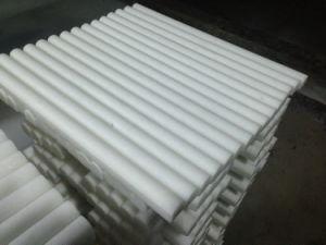 Polished Thassos White Greek Marble 3//4 X 12 Bullnose Liner