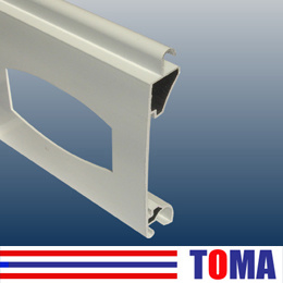 77mm Aluminum Single Layer Slat with Quadrate Hole (TMS77A) pictures & photos