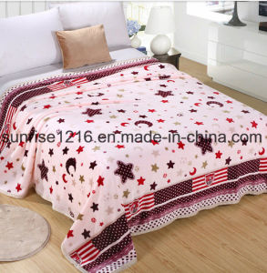 Super Soft Printed Flannel Blanket Sr-B170213-19 Printed Coral Fleece Blanket