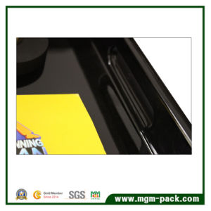 Hight Glossy Black Lacquered Wooden Tray pictures & photos