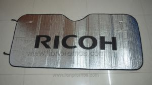 Ricoh Logo Car Promotional Gifts Sun Shade pictures & photos