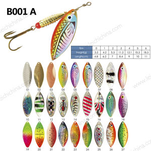 Life Like Metal Fishing Lure Spinner pictures & photos