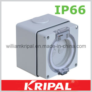 IP66 3 Pin 10A Weatherproof Surface Switch pictures & photos