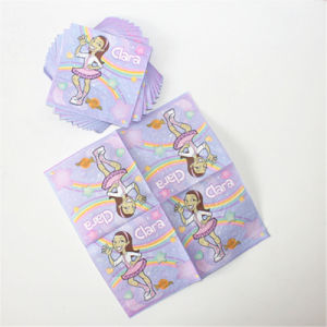 Clara Printed Party Paper Tableware Napkin pictures & photos