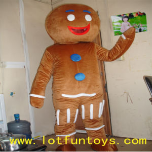 Christmas Gingerbread Costume - Fit for Children and Adult : gingerbread costume for adults  - Germanpascual.Com