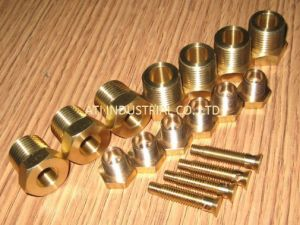 Brass Turning Fitting Part pictures & photos