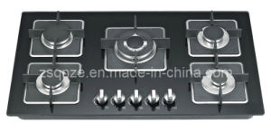 New Model Glass Top Gas Cooker (CH-BG5015B)