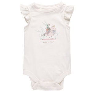 Lovely Girls Short Sleeve Soft 100% Cotton Baby Wear pictures & photos