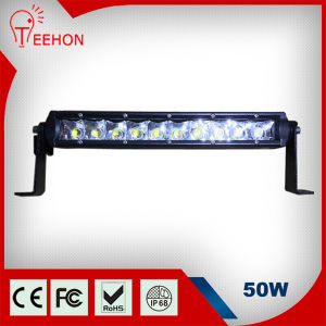 13inch 50W Super Slim LED Light Bar for Truck pictures & photos