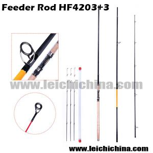 Chinese 4250mm 3+3sections 98% Carbon Feeder Fishing Rod pictures & photos