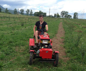 4 Wheel Mini Tractor (Sh120) pictures & photos