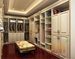 Best Price Walk In Closet Solid Wood Wardrobe Design
